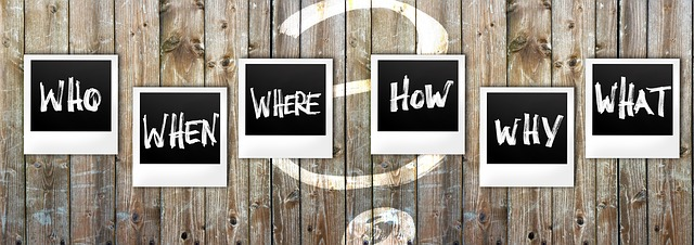 question: when, what, who, how, where