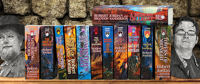 If you loved the Game of Thrones books you should read The Wheel of Time series